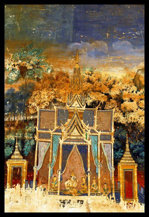Paintings - Silver Pagoda - Phnom Penh