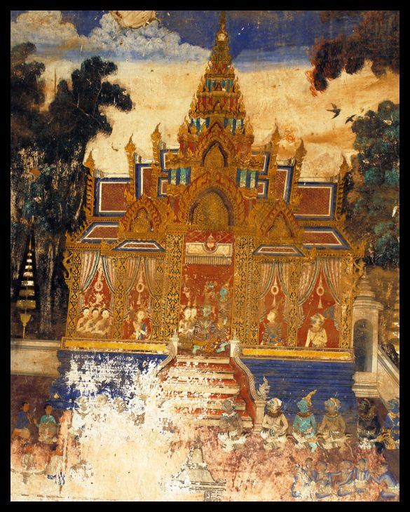 Paintings - Silver Pagoda - Phnom Penh