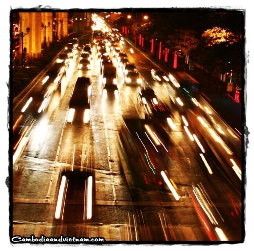 Bangkok Traffic @ Night