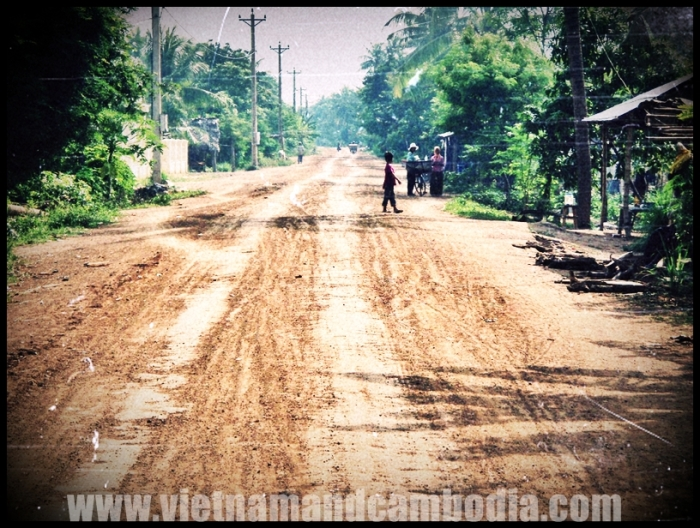 Dusty Road - Cambodia