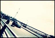 Traffic on Khanh Hoi Bridge