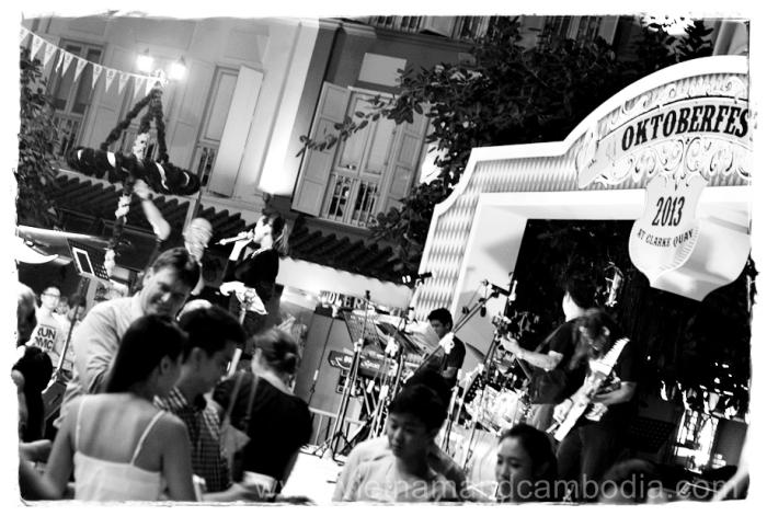 Oktoberfest 2013 @ Clarke Quay, Singapore